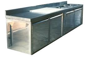 meuble inox cuisine meuble cuisine en inox meuble inox arrondi courbevoie meuble