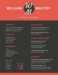 red grey modern resume templates by canva