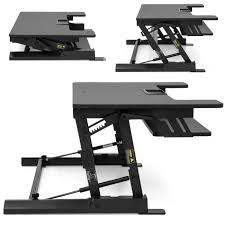 Sit Or Stand Desk by Bestchoiceproducts Rakuten Best Choice Products Height