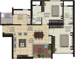 Park West Floor Plan by 680 Sq Ft 1 Bhk 1t Apartment For Sale In Shapoorji Pallonji Real