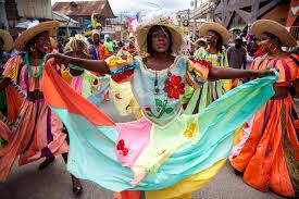 Haitian And Jamaican Flag On Catwalk Haiti Outlook