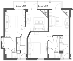 Hotel Suite Floor Plan Superior One Bedroom Suite Moose Hotel U0026 Suites Banff Hotel