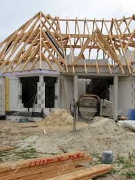 new european house being built in holland stock photo picture