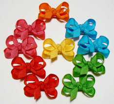 diy baby hair bows infant hair bow set with knots 10 bows choose your own