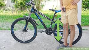 Most Comfortable Bike Seat Women How To Adjust Your Bike Seat 12 Steps With Pictures Wikihow