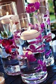 Vases With Flowers And Floating Candles Fake Flowers In Vase Foter