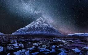 milkyway over scottish highlands mac wallpaper download free mac
