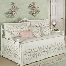 Daybed Cover Sets Posy Quilted Floral Daybed Bedding Set Daybed Daybed Bedding
