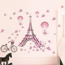 Eiffel Tower Wall Decals Tower Wall Sticker Tower Wall Sticker Suppliers And Manufacturers