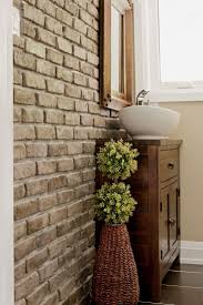 Basement Bathroom Renovation Ideas by 10 Best Brick Tiles In Bathrooms Images On Pinterest Bathroom