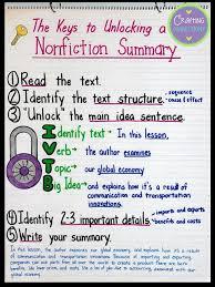 best 25 summary anchor chart ideas on pinterest summarizing