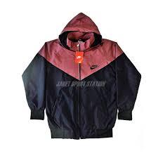 Jaket Nike Murah Bandung 082230552701 simpati jaket parasut nike coklat hitam jaket