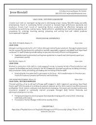 Kitchen Staff Resume Sample by Cook Resume Sample Template Design