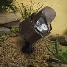 Kichler Outdoor Led Landscape Lighting Outdoor Lighting Design What Is A Bullet Light