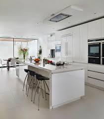 custom hood in soffit above window kitchen modern kitchen