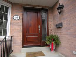 Metal Front Doors For Homes With Glass by Wood Entry Doors Applied For Home Exterior Design Traba Homes