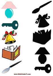 kids under 7 shadow worksheets part 2