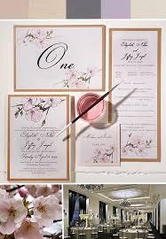 cherry blossom wedding invitations inspirations pink cherry blossom wedding invitationsmomental designs
