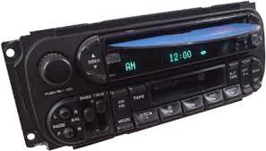 2002 dodge dakota radio 2003 dodge dakota factory am fm stereo radio cassette cd player