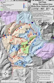 Vail Colorado Map by Vail Pass Area Recreation Map E Vail Co U2022 Mappery