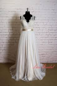 simple wedding gown lace wedding dress with v neck simple wedding dress with