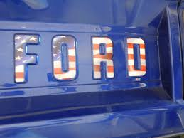 Bronco Flag Ford Tailgate Letter Stickers American Flag Broncograveyard Com