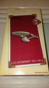 hallmark keepsake trek ornament uss enterprise magic ncc 1701