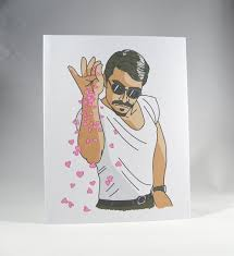 Funny Meme Cards - salt bae love card salt bae love card valentine card