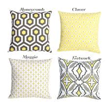 Pillow Covers For Sofa by Styles Soft Yellow Throw Pillows For Cute Bedroom Decor Ideas