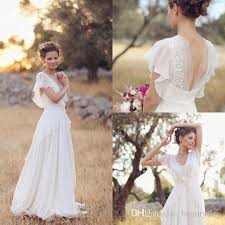 hippie wedding dresses discount bohemian hippie style wedding dresses 2017 a line