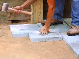 How To Build A Stone Patio by Building A Paver Patio How Tos Diy