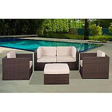Patio Casuals Clothing Casual Seating Sets All Weather Wicker Kmart