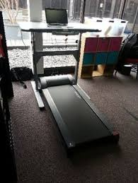 Rent Treadmill Desk Kathie Walking While She Works With A Lifespan Treadmill Desk A