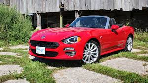 2017 fiat 124 spider lusso test drive review
