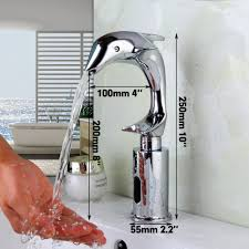 popular automatic kitchen faucets buy cheap automatic kitchen new art design shape luxury modern chrome polished faucets brushed waterfall bathroom kitchen washbasin tap automatic