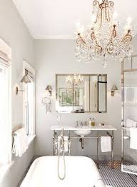 Chandelier Bathroom Lighting with Bathroom Chandeliers Ideas Clarissa Glass Drop Small Round