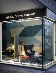 Modern Furniture Showroom by Designswelove New Fritz Hansen Showroom In Milan
