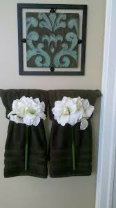 how to fold towels like a hotel fancy decorative towel hanging