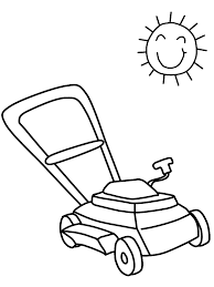 lawnmower2 summer coloring pages u0026 coloring book