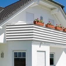 sichtschutz balkon grau de balkonsichtschutz sichtschutz windschutz 600x75cm