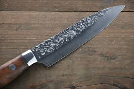 kurosaki shizuku r2 sg2 hammered pettty japanese chef knife 130mm