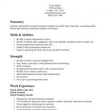 Dental Assistant Resume Skills Cover Letter Dentist Assistant Resume Dental Assistant Resume
