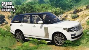 land rover mod gta 5 beautiful range rover vogue mod 4x4 off roading