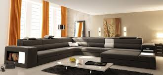 modern leather sectional sofa amazoncom baxton studio babbitt
