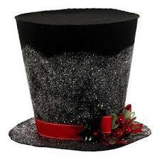 raz decorations black top hat centerpiece polyvore