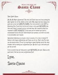official letters from santa win 1 of 10 letters from santa