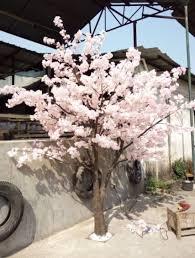 white artificial cherry blossom tree cherry flower tree