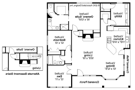 bank house floor plans home design and style