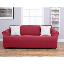 purple sofa slipcover buy burgundy sofa slipcovers from bed bath u0026 beyond