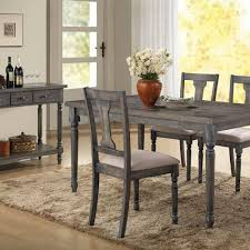 discount dining room set wallace gray collection the furniture shack discount furniture
